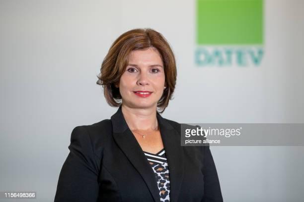 Diana Windmeißer Member of the Board of the IT service provider Datev eG Photo Daniel Karmann/dpa