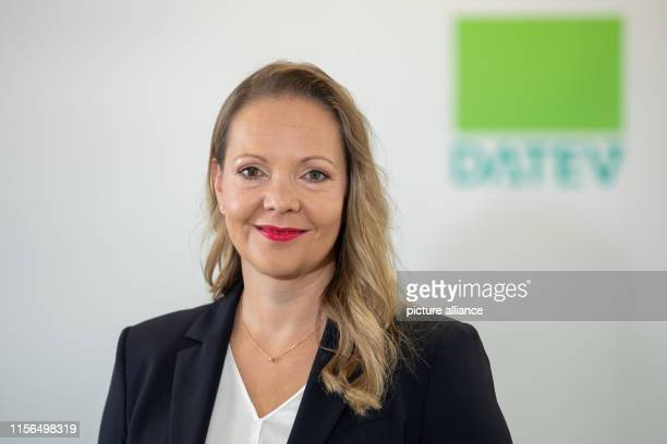 Julia Bangerth board member of the IT service provider Datev eG Photo Daniel Karmann/dpa