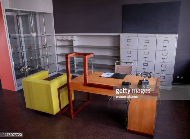 10 July 2019 SaxonyAnhalt DessauRoßlau The former study of Walter Gropius at the Bauhaus taken during the visit of the Belgian royal couple ATTENTION...