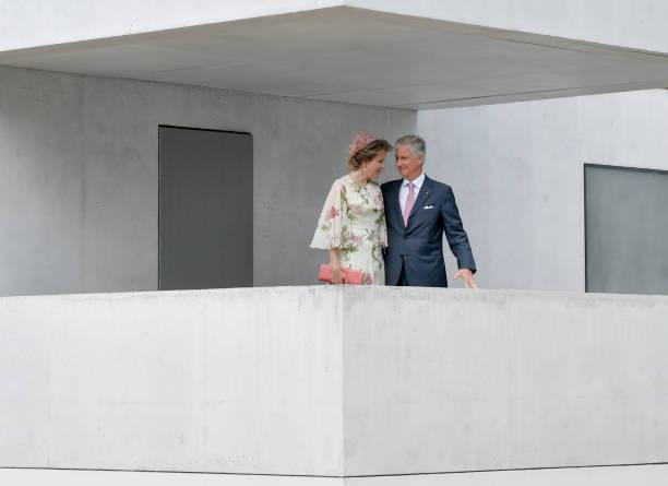 DEU: Belgian Royal Couple Visits Saxony-Anhalt