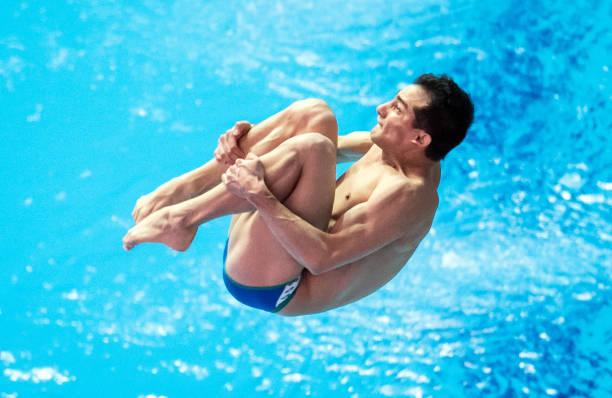 KOR: Swimming World Championships 2019 Water Jumping One Meter Board