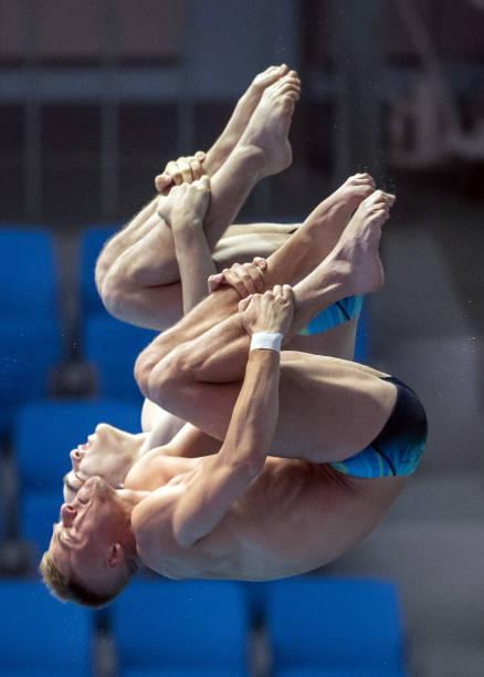 KOR: Swimming World Championships 2019 Synchronized Diving