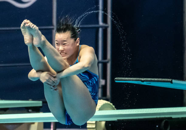 KOR: Swimming World Championships 2019 Three-Meter Board Semifinal Women