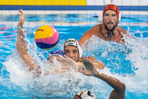 KOR: Swimming World Championships 2019 Water Polo Germany Japan