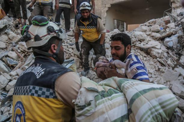 SYR: Airstrikes Near Idlib