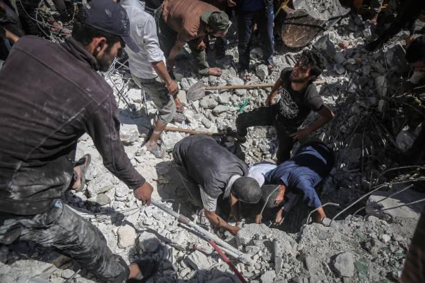 SYR: Air Strike In Syria