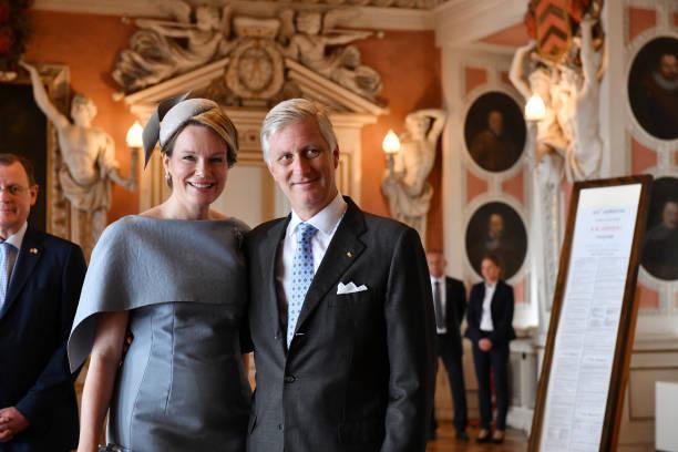 DEU: The Belgian Royal Couple Visits Thuringia