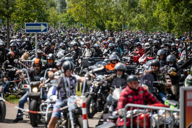 DEU: Demonstrations Of Motorcyclists Against Impending Driving Bans At The Weekend
