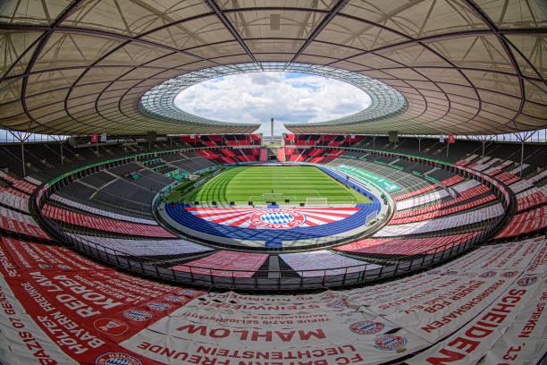 DEU: DFB Cup Final Training FC Bayern Munich