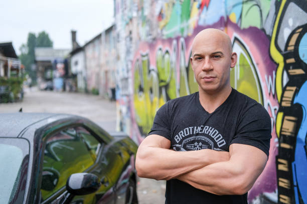 DEU: Wax Figure Of Vin Diesel In Berlin