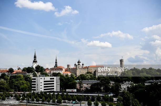 July 2020, Estonia, Tallinn: Old Town in Tallinn. Tallinn is the capital of Estonia as well as the economic and cultural centre and with about...