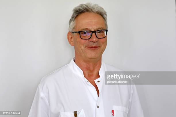 July 2020, Mecklenburg-Western Pomerania, Rostock: Andreas Podbielski, Director of the Institute for Medical Microbiology, Virology and Hygiene at...