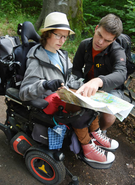 DEU: Hiking With Wheelchair Duo Tests Accessibility