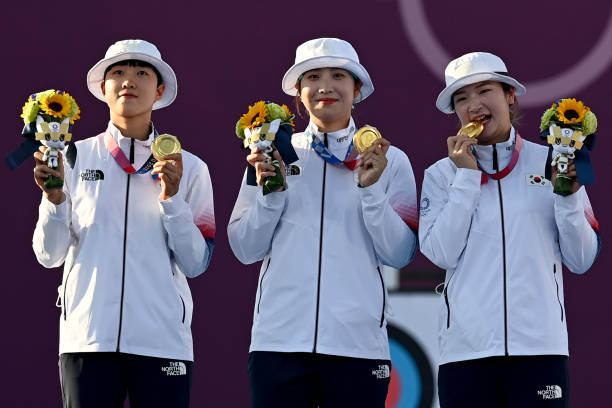 JPN: Tokyo 2020 - Archery Olympic Bow Women Team