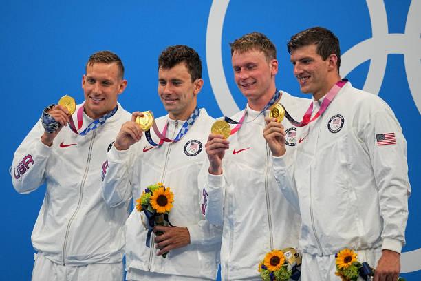 JPN: Toyko 2020 - Swimming - 4 x 100 M Freestyle Men