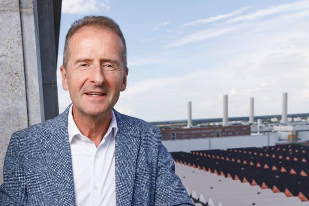 DEU: VW Chairman Of The Board Herbert Diess