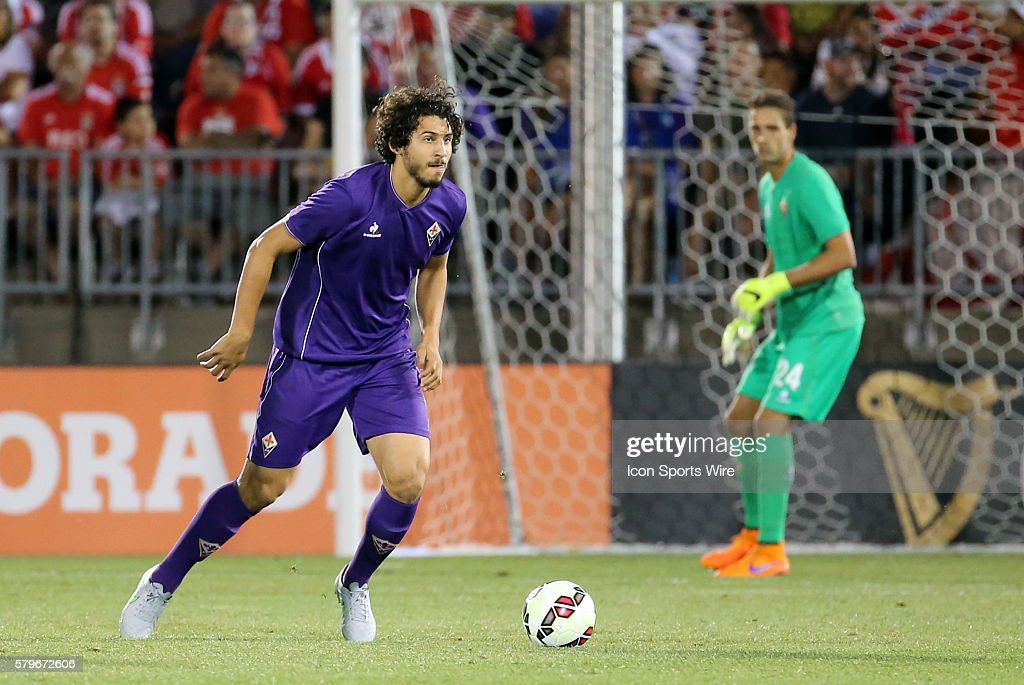 SOCCER: JUL 24 International Champions Cup - SL Benfica v Fiorentina : News Photo