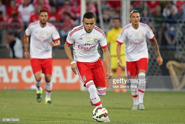 SL Benfica forward Jonathan Rodriguez takes off on a counter attack ACF Fiorentina defeated SL Benfica 10 in a Guiness International Champions Cup...