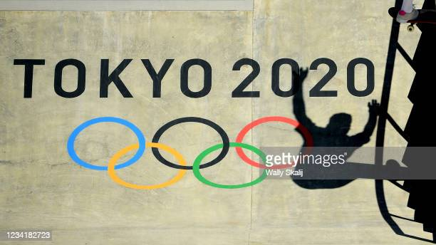 July 24, 2021: USA's Jake Ilardi competes in the men's street prelims at the 2020 Tokyo Olympics.