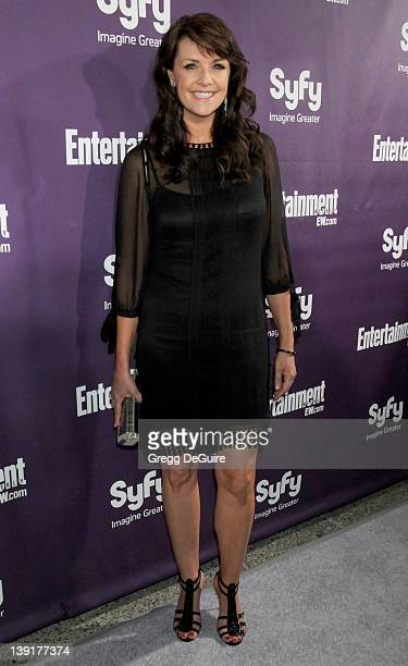 July 25, 2009 San Diego, Ca.; Amanda Tapping; Entertainment Weekly and Syfy Comic-Con Party; Held at the Hotel Solamar