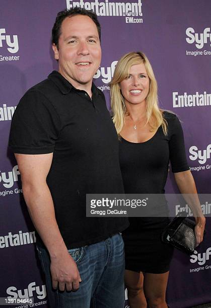 July 25 2009 San Diego Ca Jon Favreau and wife Joya Tillem Entertainment Weekly and Syfy ComicCon Party Held at the Hotel Solamar