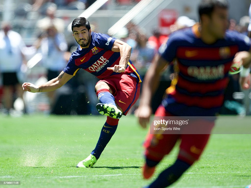SOCCER: JUL 25 International Champions Cup - FC Barcelona v Manchester United : News Photo