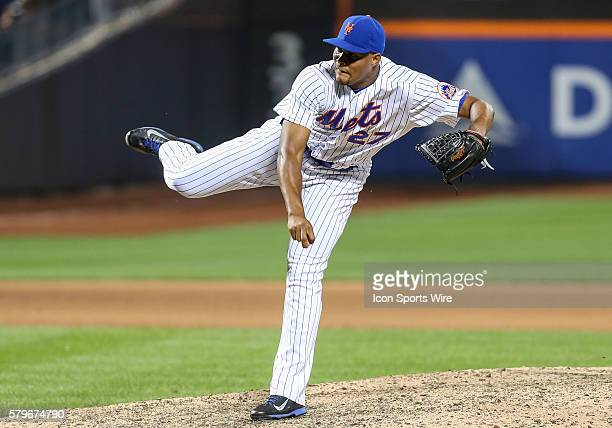 New York Mets Pitcher Jeurys Familia [7925] closes out the Mets' 152 victory over the Los Angeles Dodgers by striking out Los Angeles Dodgers Left...