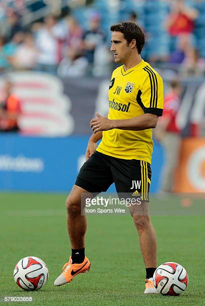 Columbus Crew's Assistant Coach Josh Wolff The Columbus Crew defeated the New England Revolution 21 in a regular season Major League Soccer match at...