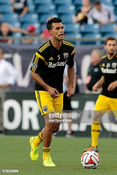 Columbus Crew's Giancarlo Gonzalez The Columbus Crew defeated the New England Revolution 21 in a regular season Major League Soccer match at Gillette...