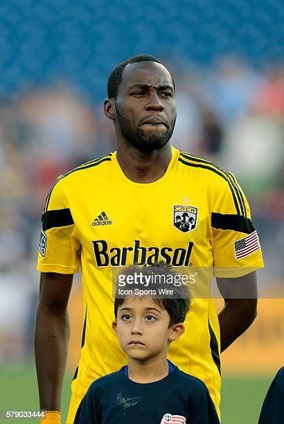 Columbus Crew's Tony Tchani The Columbus Crew defeated the New England Revolution 21 in a regular season Major League Soccer match at Gillette...