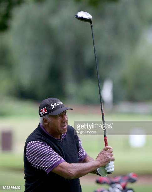 NOTTINGHAM ENGLAND July 27 Jim Howard of Pontypool Golf Club during Day 2 of the PGA Super 60s Tournament on July 27 2017 in Nottingham England