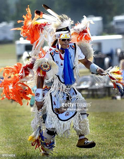 pwpowwow assignmet no 192870 Photographer Gerald Martineau Manassas Fairgrounds Native Americans gathering We photograph Jason Warwick of the Lumbee...