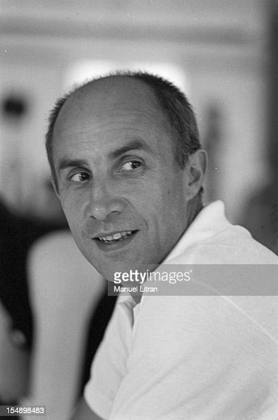 July 28 portrait of fashion designer Andre Courreges was the occasion of the presentation of its new models of the winter collection 19691970