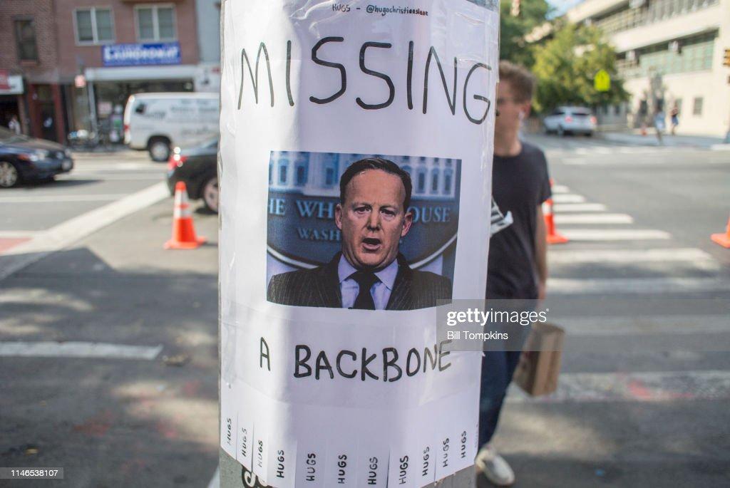 Sean Spicer Archive : ニュース写真