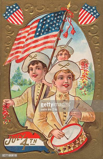 July 4th Postcard