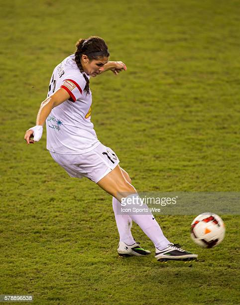 Western New York Flash defender Brittany Taylor during the MWSL Western New York Flash vs Houston Dash soccer match at BBVA Compass Stadium in...