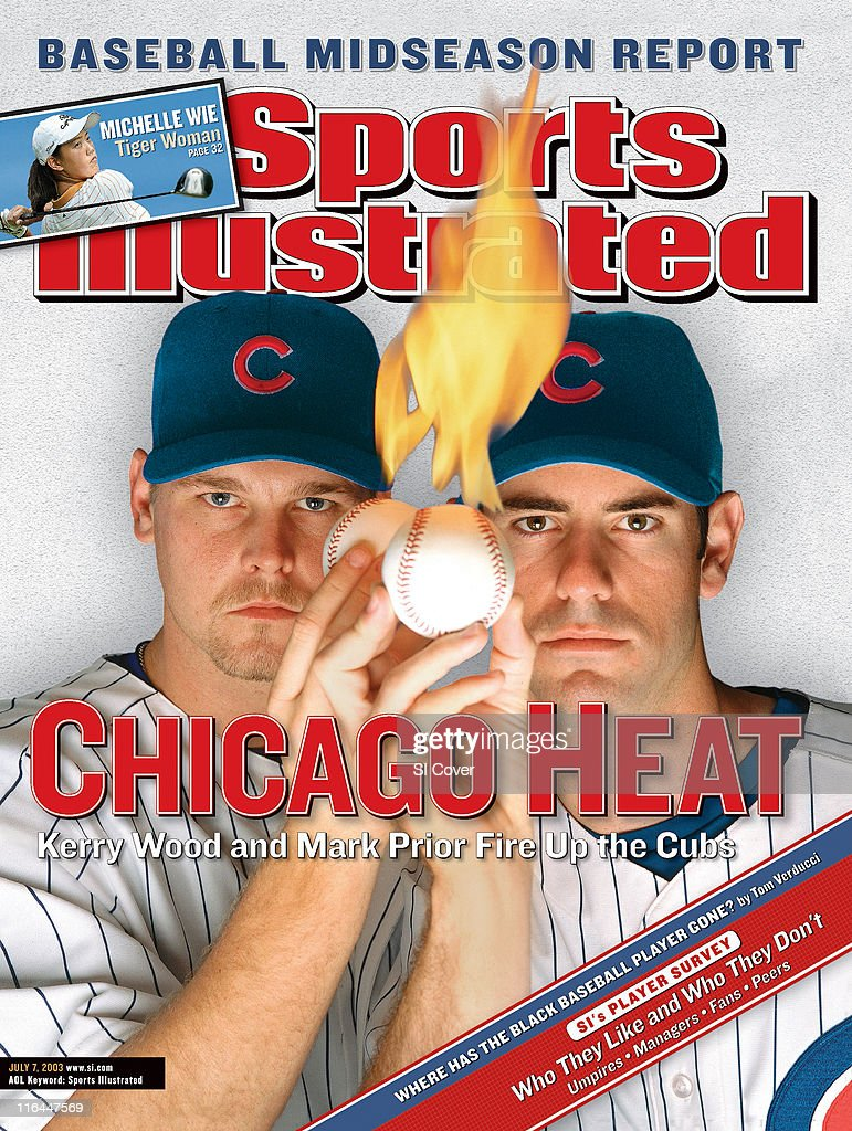 Chicago Heat: Kerry Wood and Mark Prior Fire Up the Cubs : News Photo