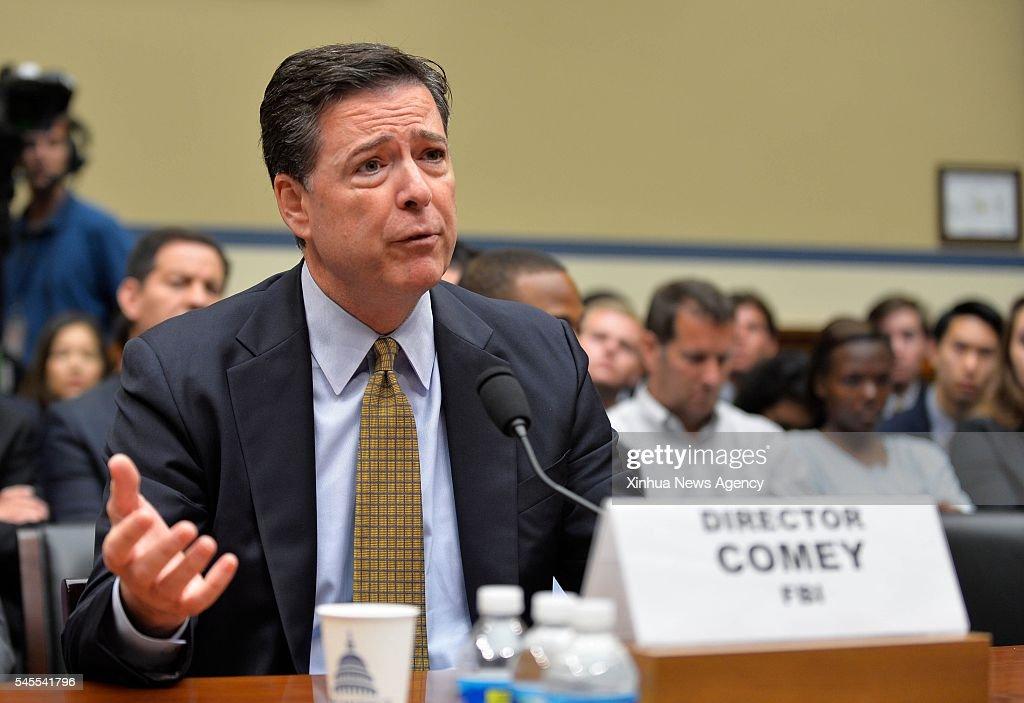U.S.-WASHINGTON D.C.-FBI-HEARING : News Photo