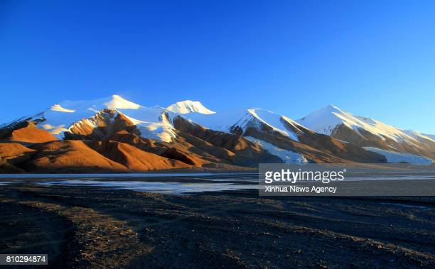 XINING July 7 2017 File photo shows snow mountains and rivers in Hoh Xil of northwest China's Qinghai Province The 41th session of the World Heritage...