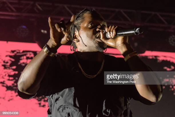 WASHINGTON DC July 7th 2018 Pusha T performs at Echostage in Washington DC Daytona his third studio album was released in May