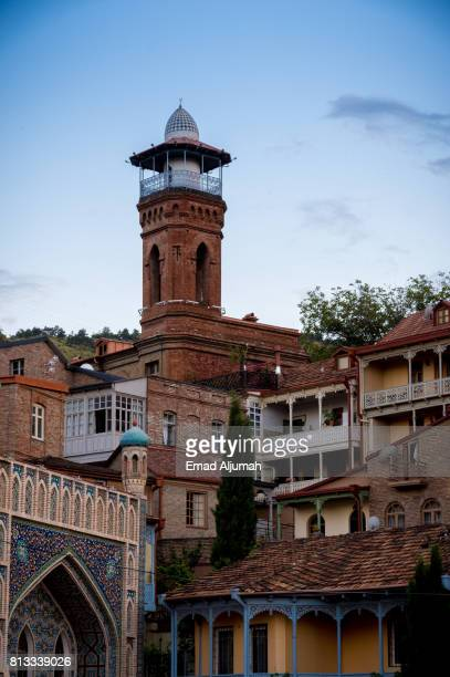 Jumah Mosque in Tbilisi old town, Georgia - June 30, 2017