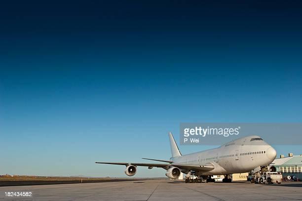 Jumbo Jet at Airport