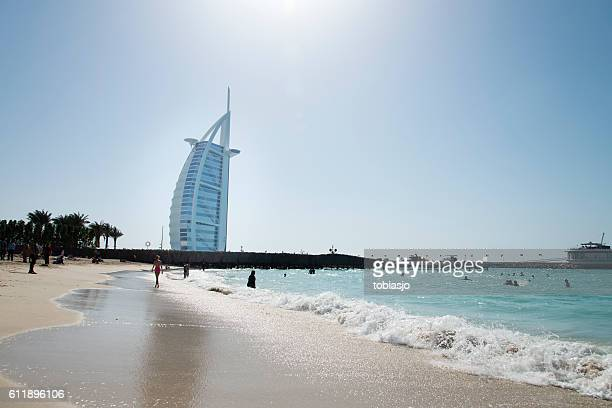 Jumeirah Beach Hotel Stock Pictures