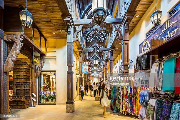 Jumeirah, Medinat Jumeirah, shops in the interior