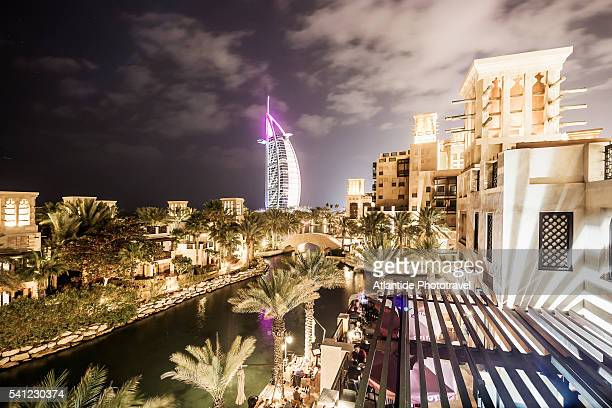 Jumeirah, view of Burj al-Arab from Medinat Jumeirah