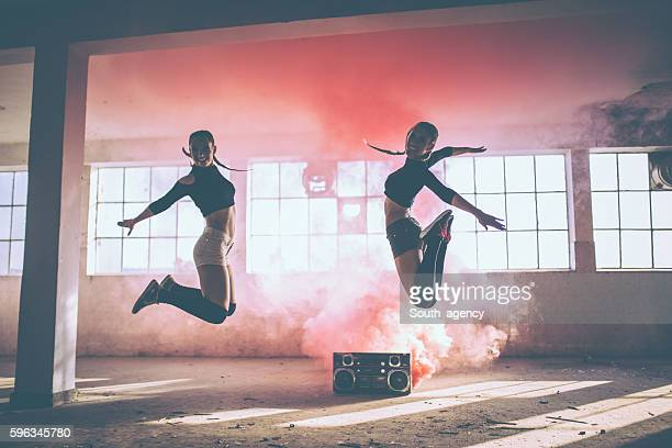 jump and dance - breakdancing stock photos and pictures