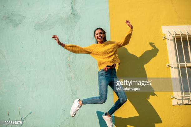 jump! - jumping stock pictures, royalty-free photos & images