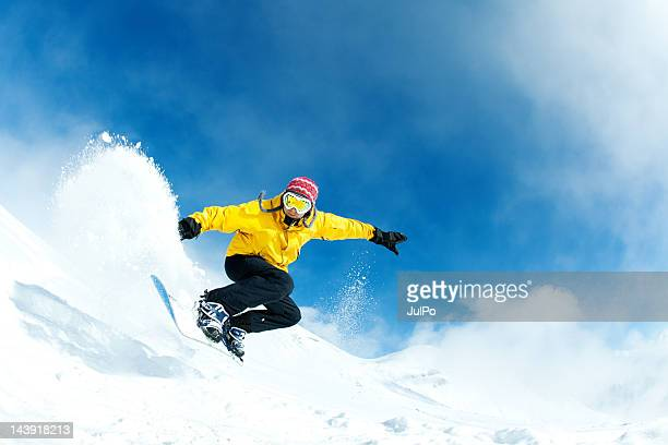 jump - boarding stock pictures, royalty-free photos & images
