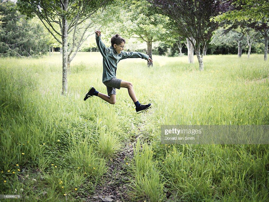Jump : Stock-Foto