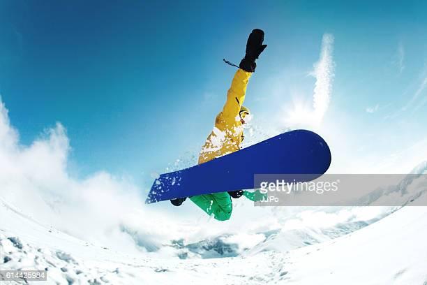 salto  - esportes extremos - fotografias e filmes do acervo